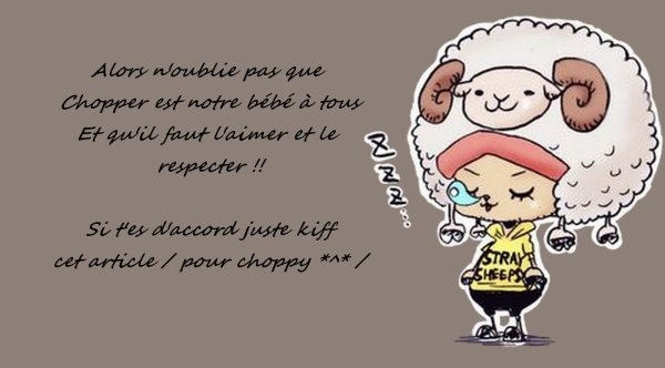 """ Tony Tony Chopper :3 !! ♥ """
