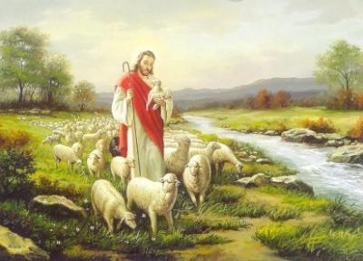 Le seigneur est mon berger .. comme une brebis je veux le suivre ...