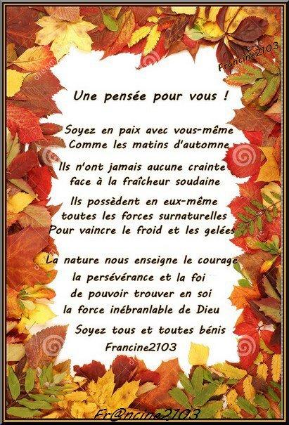 Un poème de moi à vous en cadeau !!