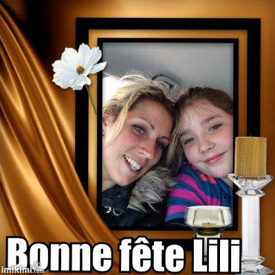 6 septembre 2015 **Bon anniversaire ma Lili