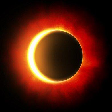 éclipse partielle du soleil le 13 septembre