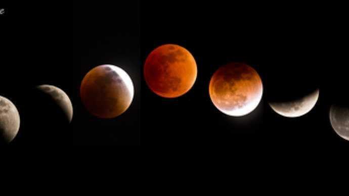 Éclipse de lune !! la lune virera au rouge sang .. cette nuit le28 septembbe ..voir sur le net