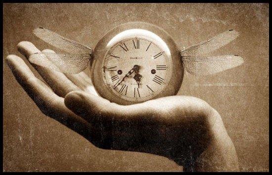 Moment de réflexion( Le temps dans nos mains )
