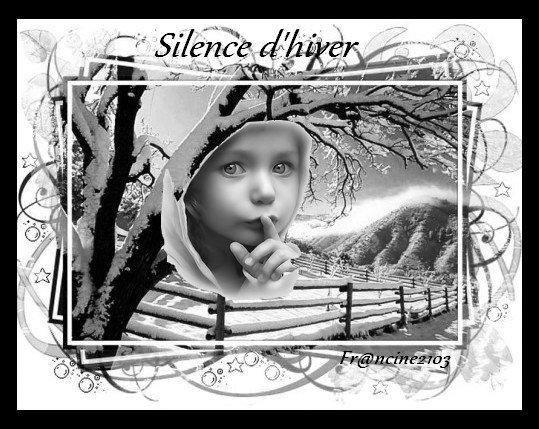 Silence !!