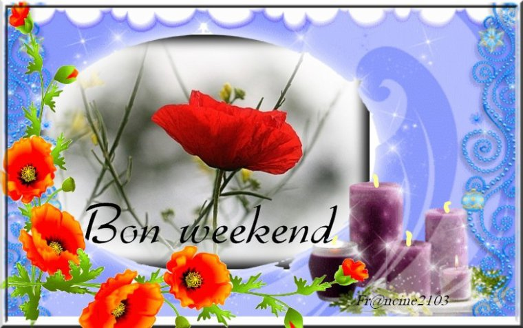 Pause repos week-end !!