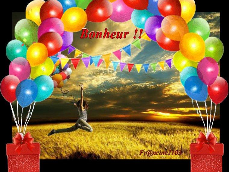 Bonheur !!