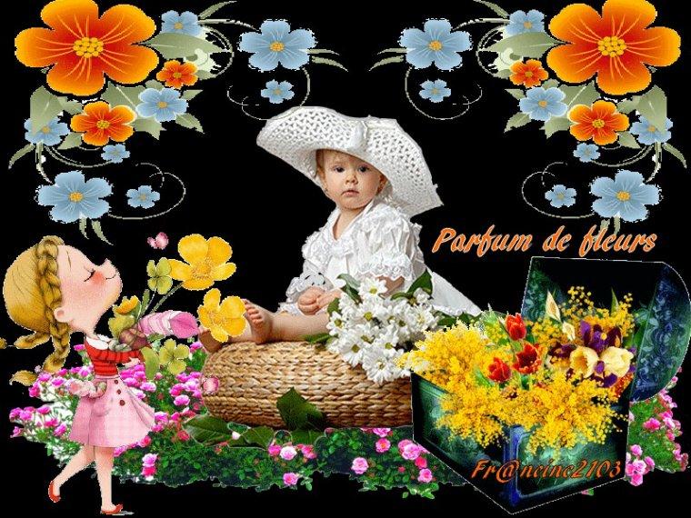 Parfum de fleurs !!