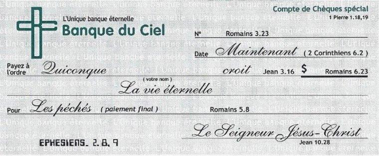 Le don de la vie éternelle !!