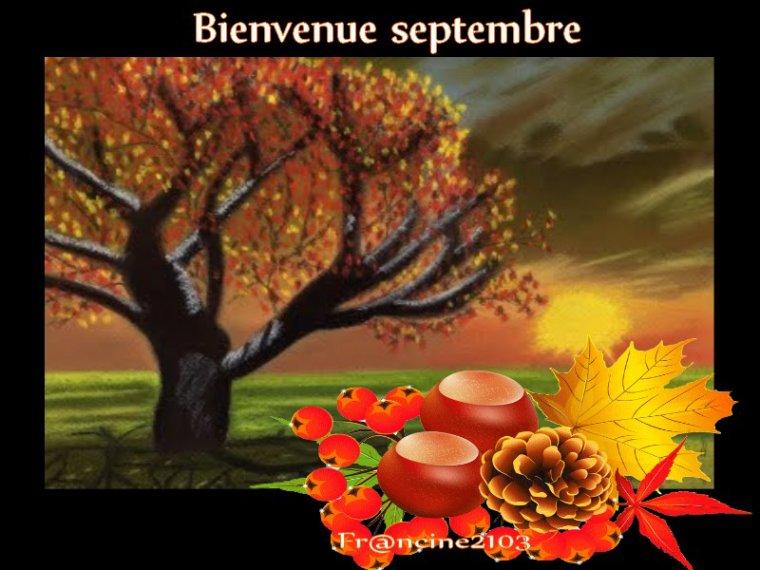 Bienvenue septembre