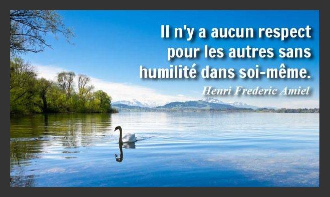 Humilité !!