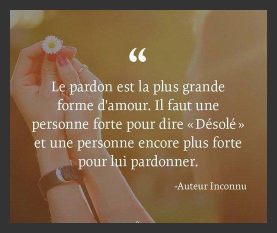 Pardonner !!