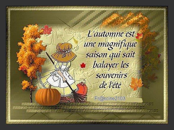Poésie d'automne !!