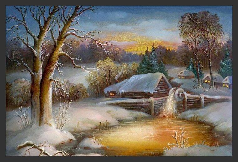Toile d'hiver !!!