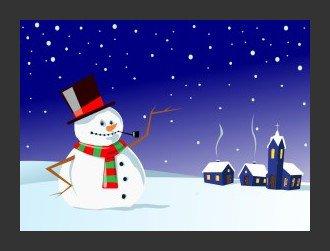 Bonhomme de neige !!