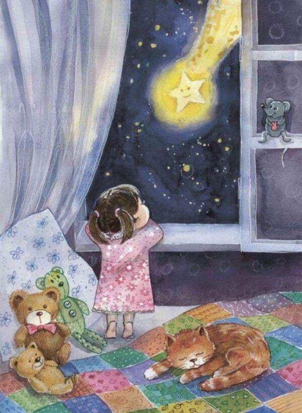 Bonne et douce nuit reconfortante