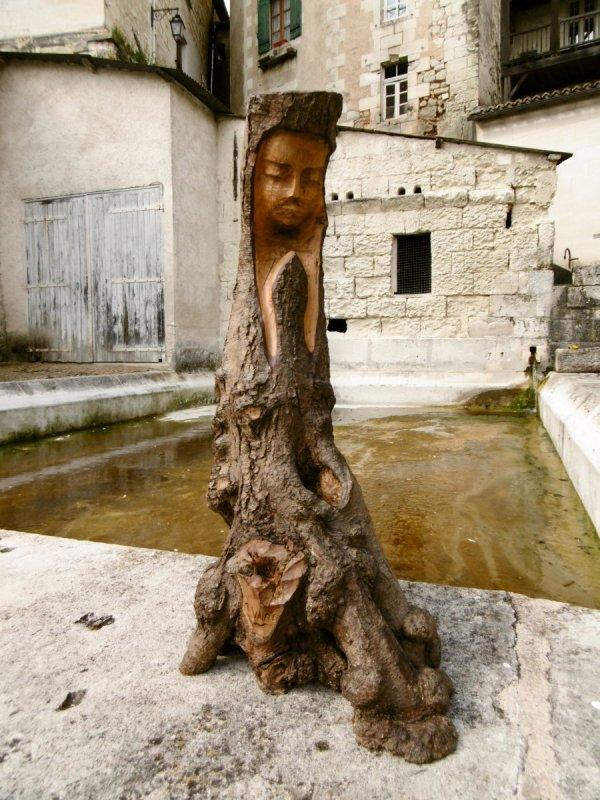 Sculpture retrouvée