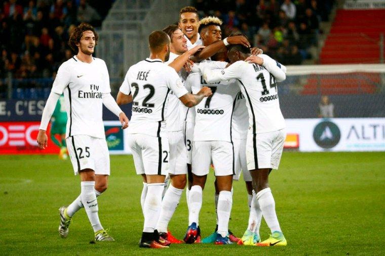 Maillot porté par Jesé Rodriguez lors de Caen vs PSG
