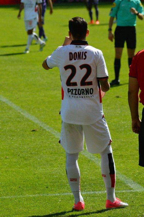 Maillot porté par Anastasios Donis lors de TFC vs Nice