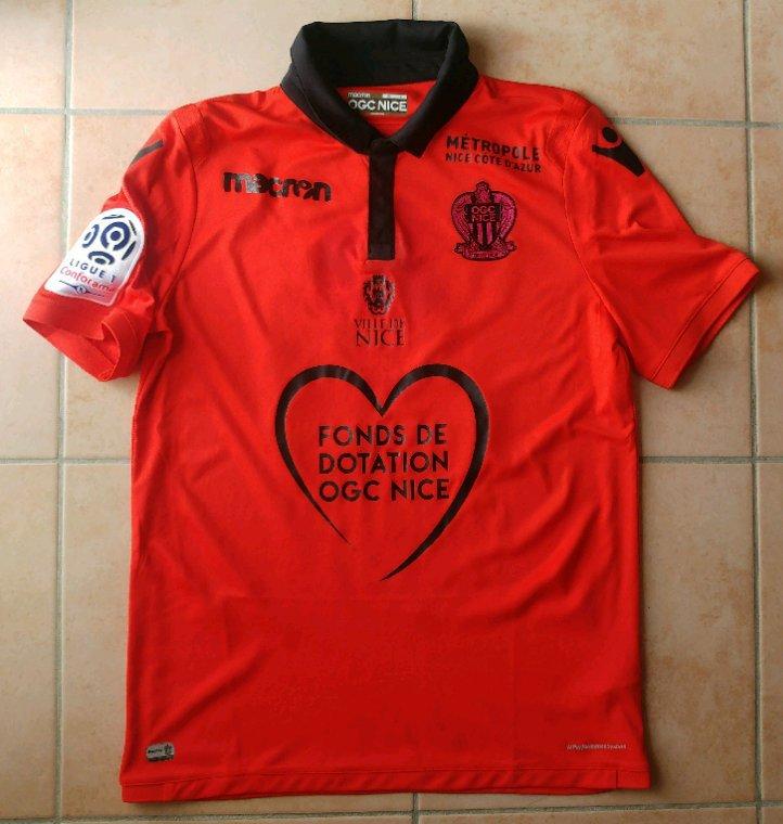 maillot porté par Malang Sarr lors de TFC vs OGC Nice