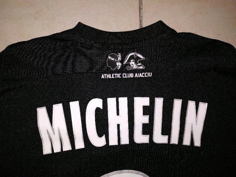 Maillot porté par Clément Michelin contre Sochaux