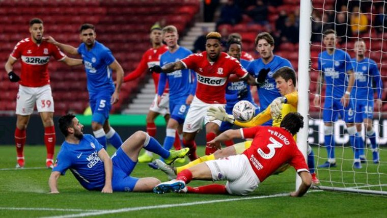 Maillot porté par Mark O'Hara contre Middlesbrough Emirates FA Cup