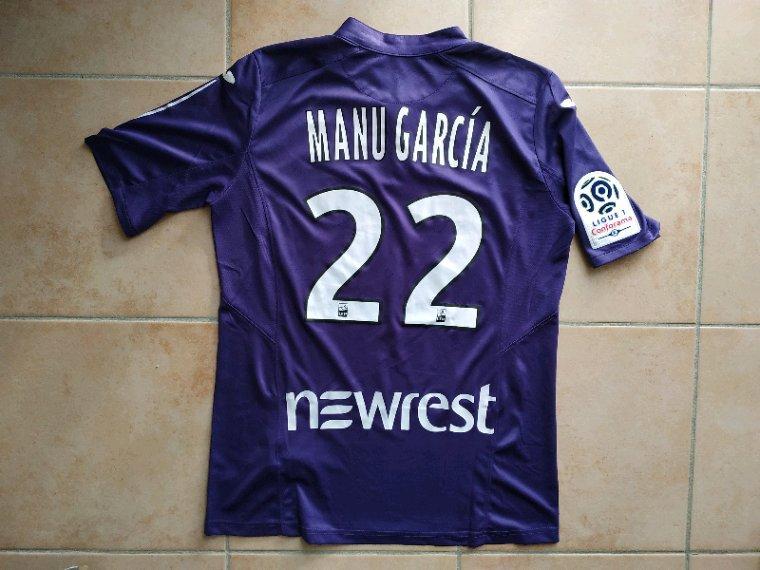 Maillot préparé pour Manu Garcia pour TFC-Rennes