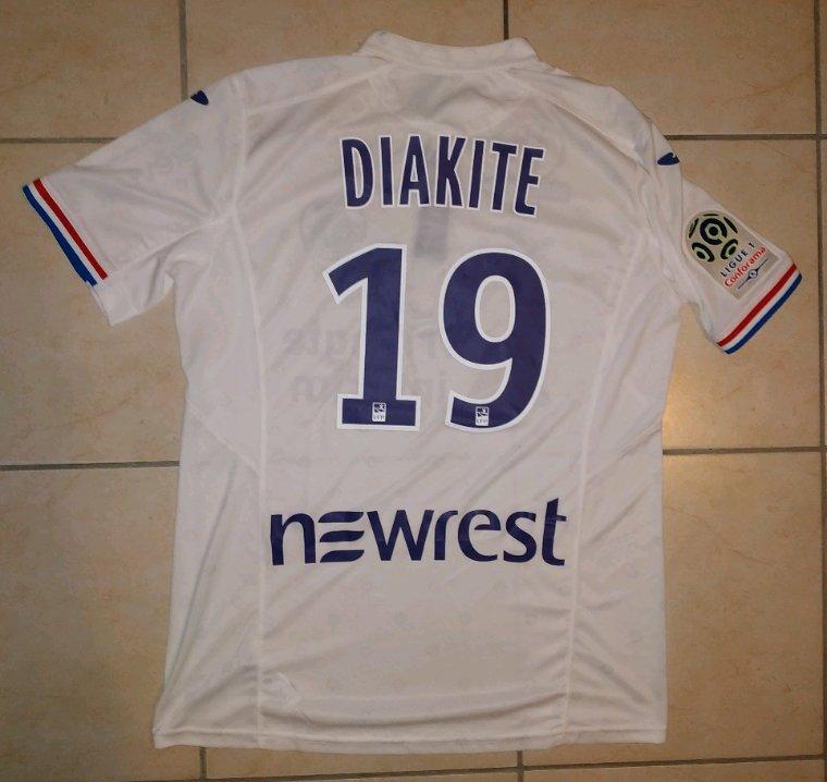 Maillot porté par Bafodé Diakité lors de Dijon-TFC