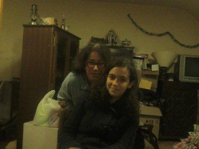 Avec la correspondante Sara