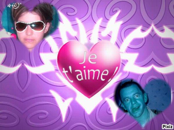 moi et mon homme je t'aime mon amour de ma vie