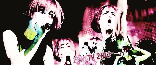 7 Septembre 2013: paramore zenith 2013 (Création dedestinycyrusnew)