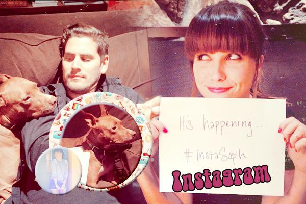 10 Janvier 2013: Sophia Bush instagram  ( création de breatheyourlifeintome)