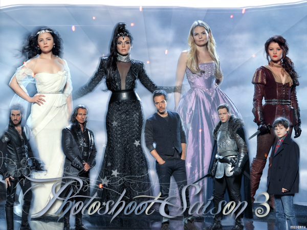 13 Septembre 2013: Photoshoot saison 3 Once Upon A Time (Création de magic-iscoming)