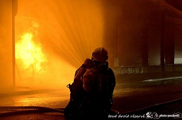 fuite de gaz enflammé