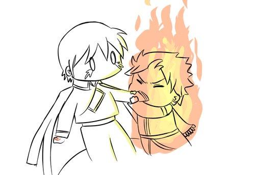 Natsu et Roy