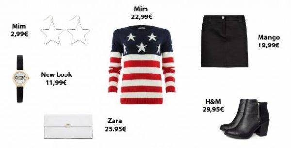 Les looks de la semaines : I love USA ♥