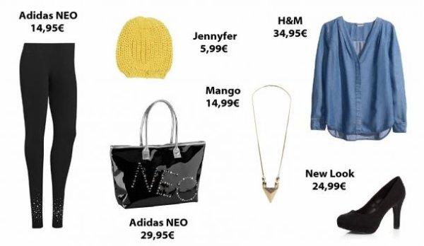 Les looks de la semaine spécial Selena Gomez pour sa collection Adidas Neo