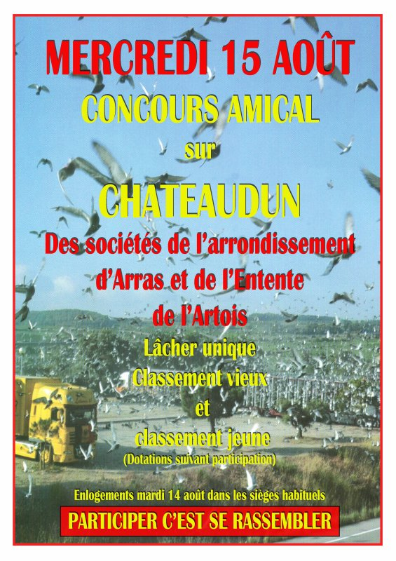 Concours Chateaudun 15 Août