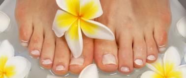 La beauté des pieds