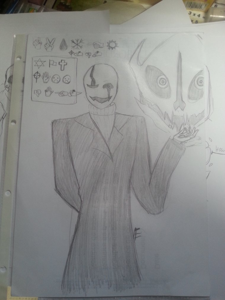 dessin Undertale en vrac