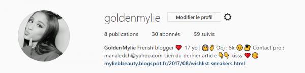 Golden Mylie ( instagram )