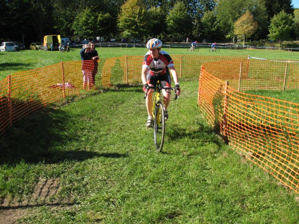 Cyclo cross Fourmies le 10 10 2010