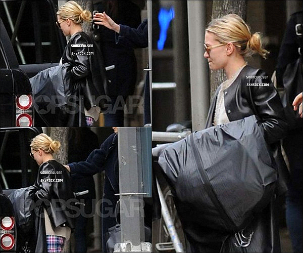 . 09/04/2012 : Mary-Kate Olsen était dans les rues du quartier de Soho dans New-York City. .