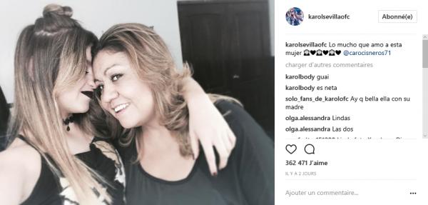 News de Karol Sévilla ♥ 18/07/2017