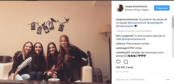 News de Ana Jara Martinez ♥ 18/07/2017