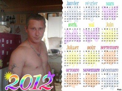 calendrier 2012 avec mon chéri