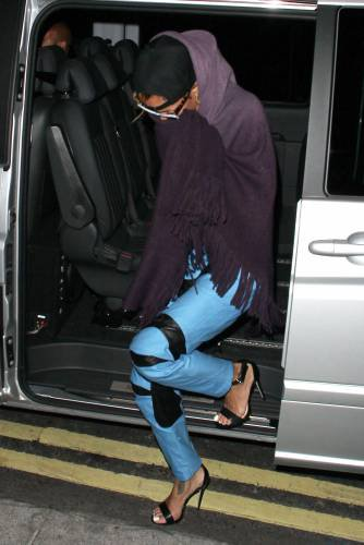 Rihanna à Londres