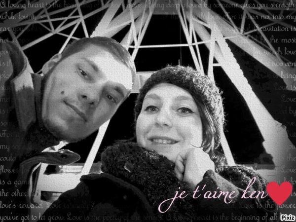 voici mon fiancé ken et moi