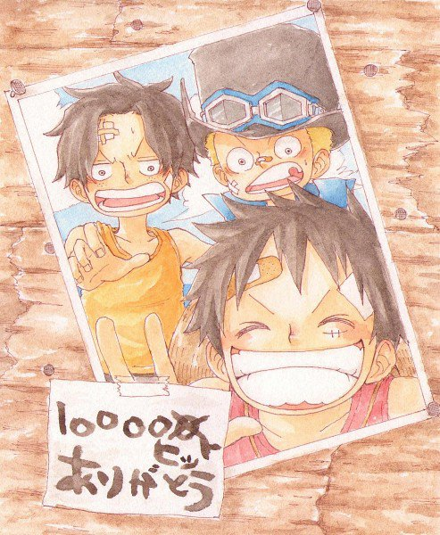 Ace, Sabo, Luffy