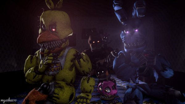 when you're playing with plushtrap....
