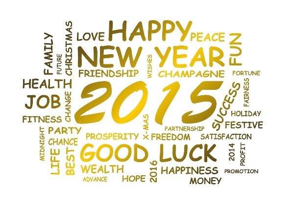 Happy new year 2015 ?❤️❄️⛄️